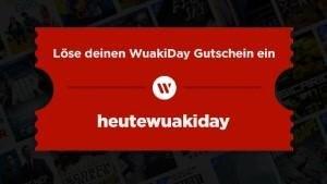 Wuaki.tv Gutschein zum wuakiday