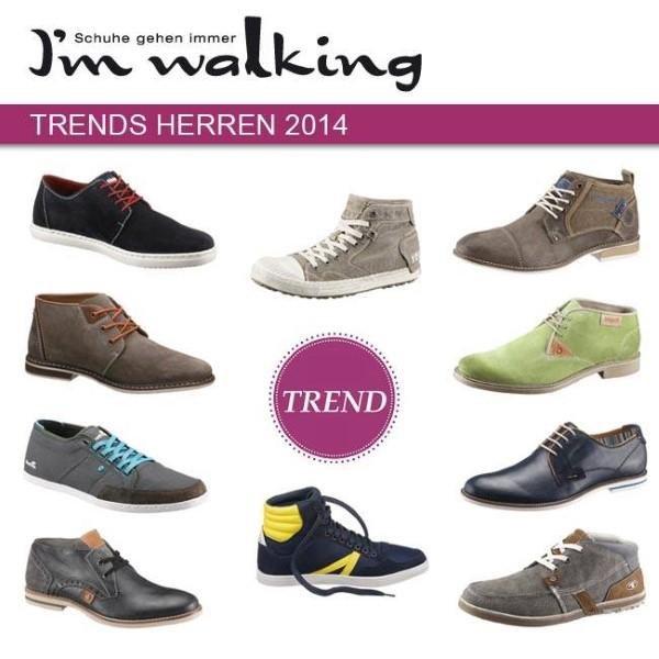 Trends 2014 der Herrenschuhe
