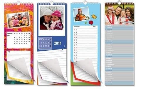 Individuelle Fotokalender