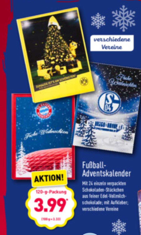 Aldi Sud Fussball Adventskalender Z B Fcb Bvb 1 Fc Koln