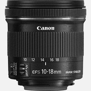 Objektiv Weitwinkel Canon EF-S 10-18