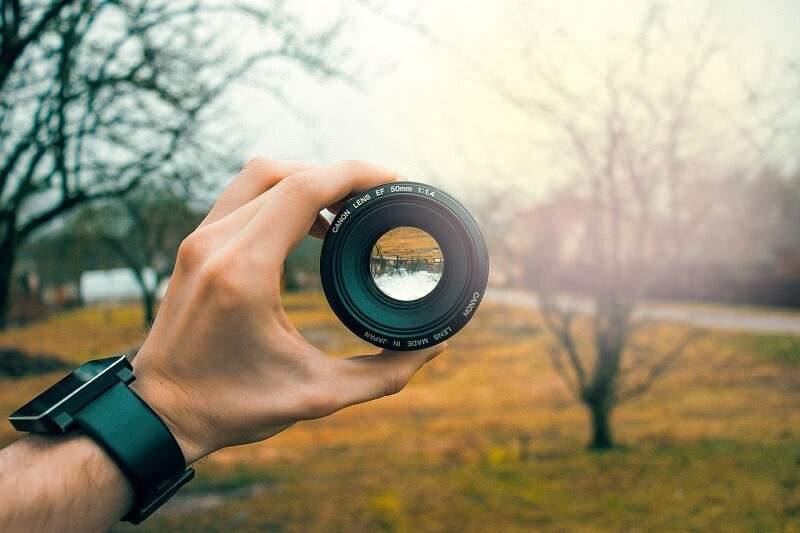 Objektiv Canon Landschaft