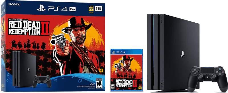 PlayStation 4 Spiele Red Dead Redemption 2 Bundle
