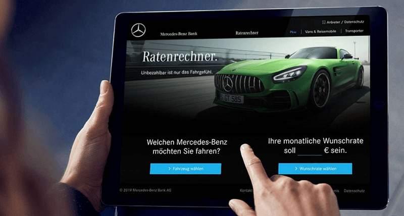 Auto Leasing Gewerbe Mercedes Benz