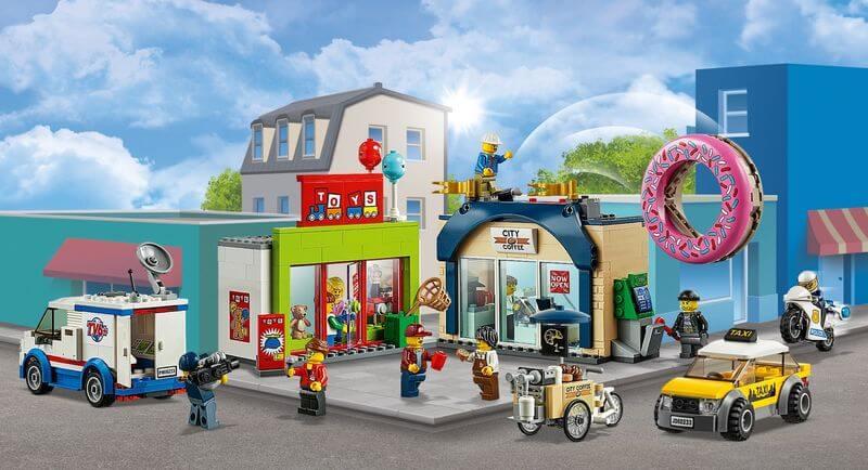 LEGO City 60233 Grosse Donut-Shop-Eroeffnung