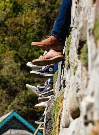 Schuhe Auswahl