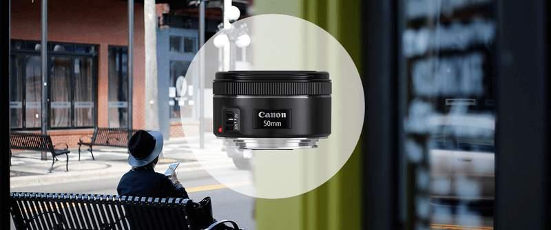 Objektiv Canon EF 50
