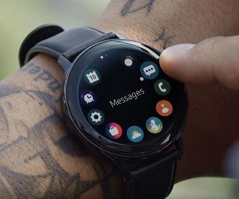 Samsung Galaxy Active Watch 2 Luenette Bedienung