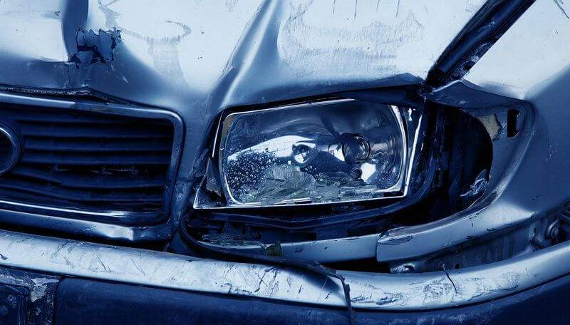 Auto Leasing privat Unfall