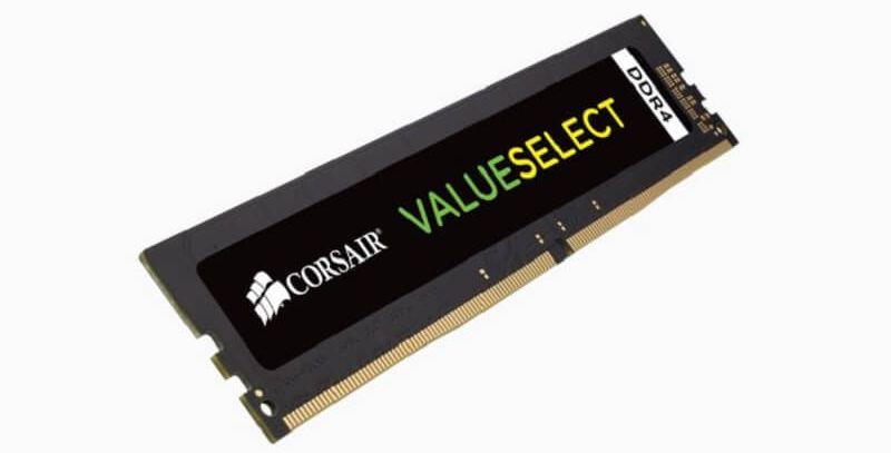 DDR4 RAM Corsair ValueSelect DDR4-2133