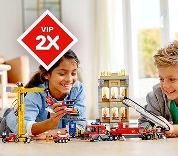 LEGO City Feuerwehr doppelte VIP Punkte