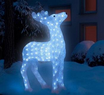 Weihnachtsbeleuchtung Figur Rentier von OBI