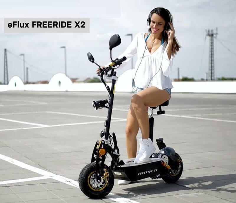 E-Scooter eFlux Freeride X2
