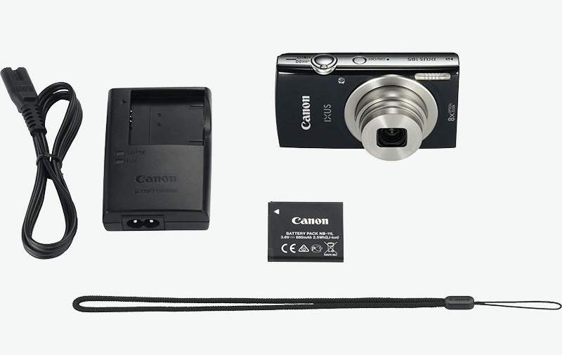 Canon Kamera IXUS 185 mit Akku