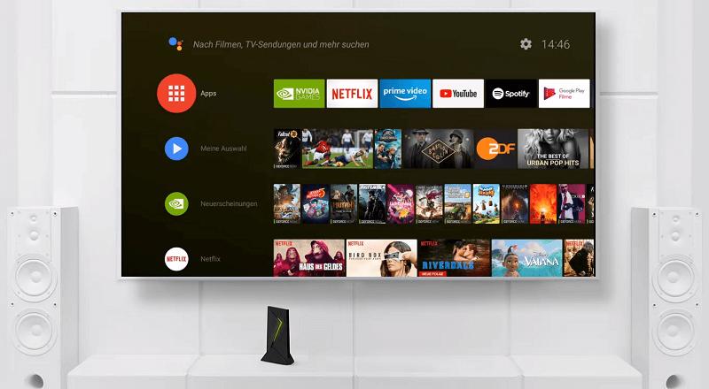 Nvidia SHIELD TV Video Streaming