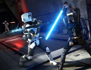 Star Wars Jedi: Fallen Order Lichtschwert Kampf