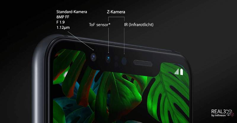 LG Smartphones LG G8S ThinQ Selfie-Kamera