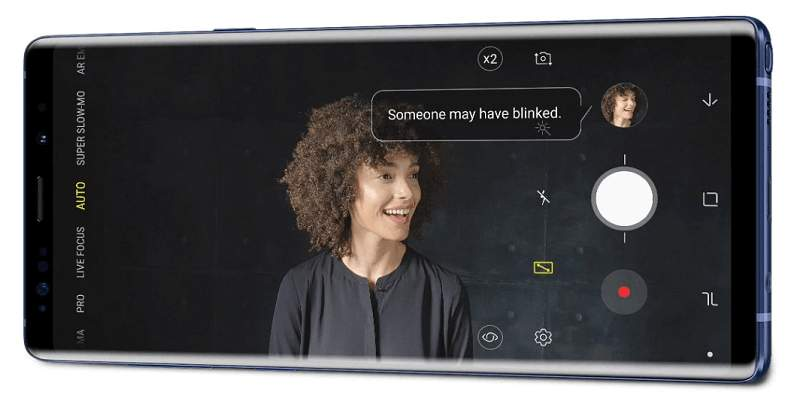 Samsung Galaxy Note 9 Kamera