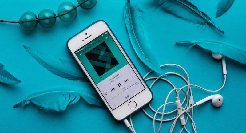 Musik-Streaming Smartphone