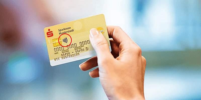 Kreditkarten Sparkasse kontaktlos zahlen