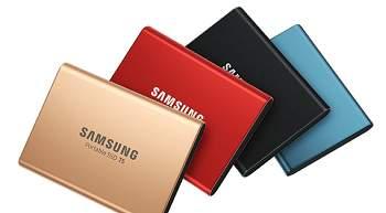 Samsung SSD Portable Externe Festplatte