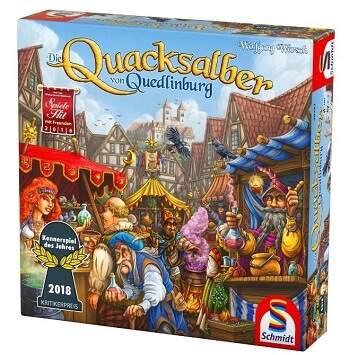 Gesellschaftsspiele Quacksalber von Quedlinburg