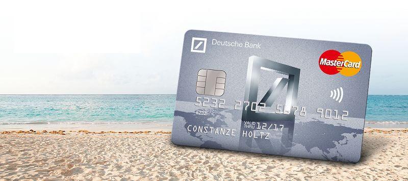 Kreditkarten Deutsche Bank Mastercard