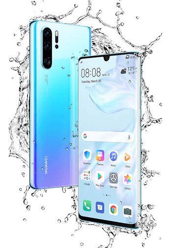 Huawei P30 Pro Wasserschutz