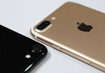 iPhone 7 Plus Gold iPhone 7 Schwarz Vergleich