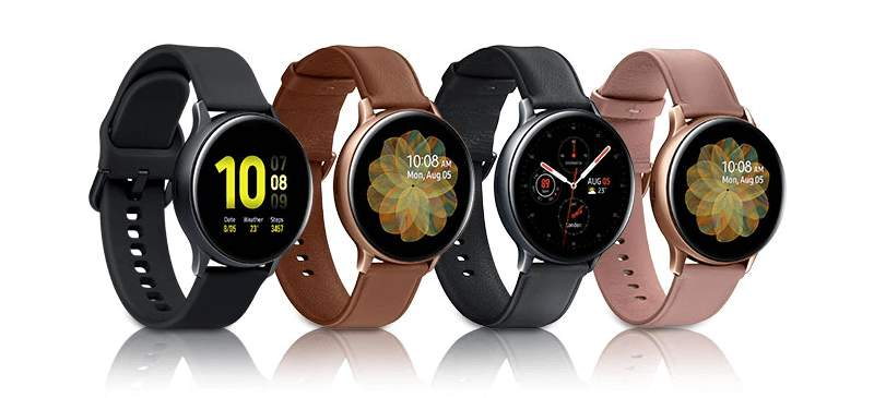 Samsung Galaxy Active Watch 2 Farben