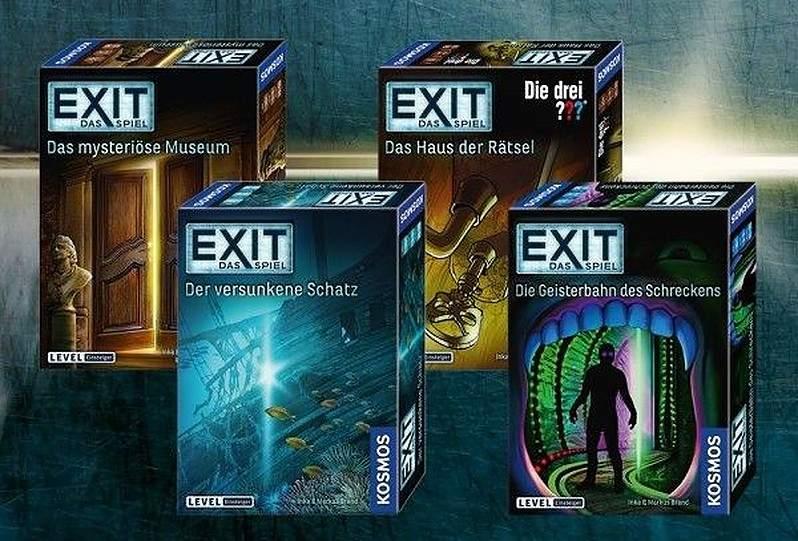 Gesellschaftsspiele Exit - Das Spiel