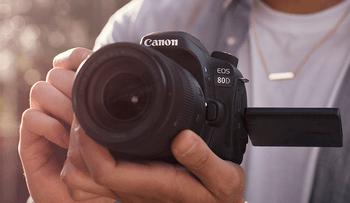 Canon Kamera EOS 80D