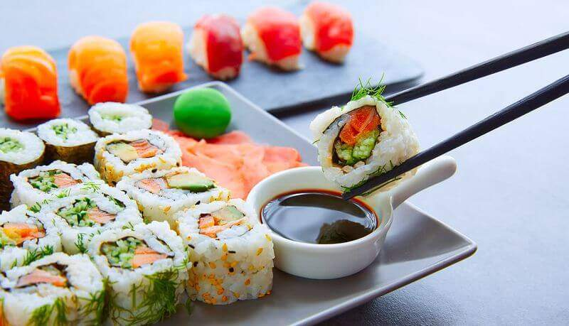 Lieferservice Lieferando Sushi