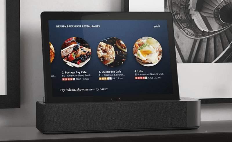 Lenovo Tablet Smart Tab mit Alexa