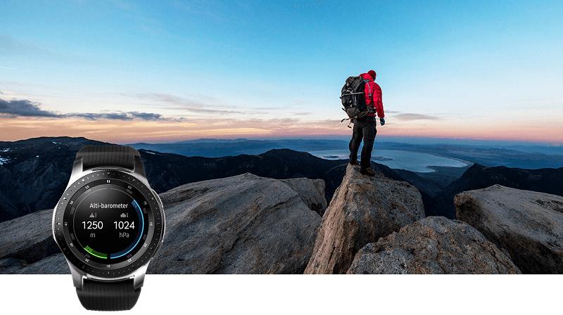 Samsung Galaxy Watch App Barometer
