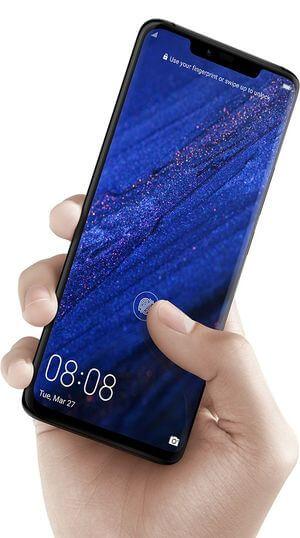 Huawei Mate 20 Pro Fingerabdrucksensor