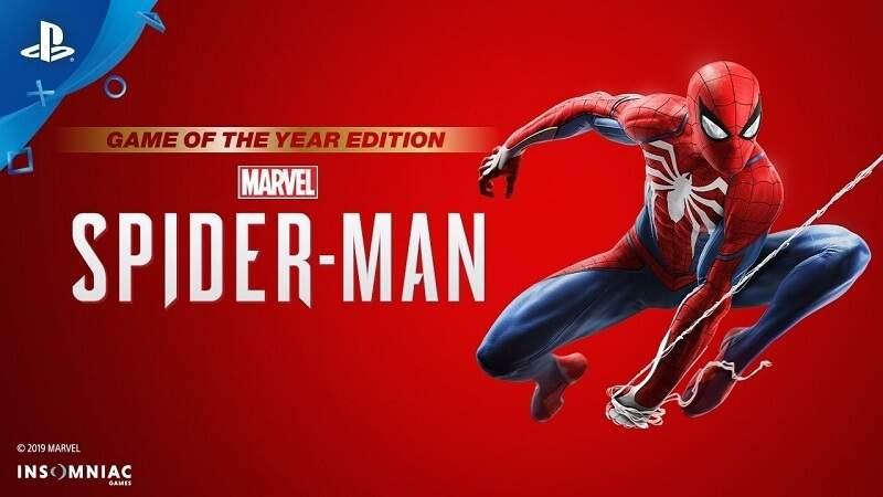 PlayStation 4 Spiele Spider-Man