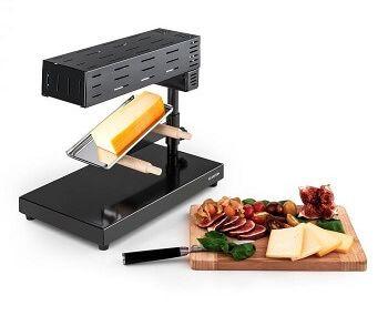 raclette racletteofen mit kaese