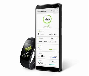 Samsung Galaxy A7 Samsung Health App