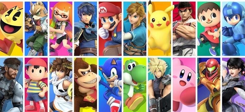 Super Smash Bros Ultimate Charaktere