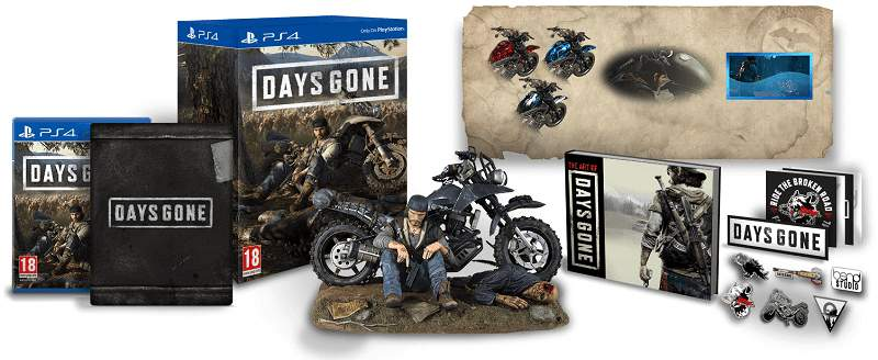 Days Gone Collectors Edition