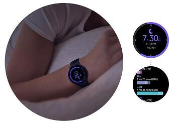 Samsung Galaxy Watch Active 2 Schlaftracking