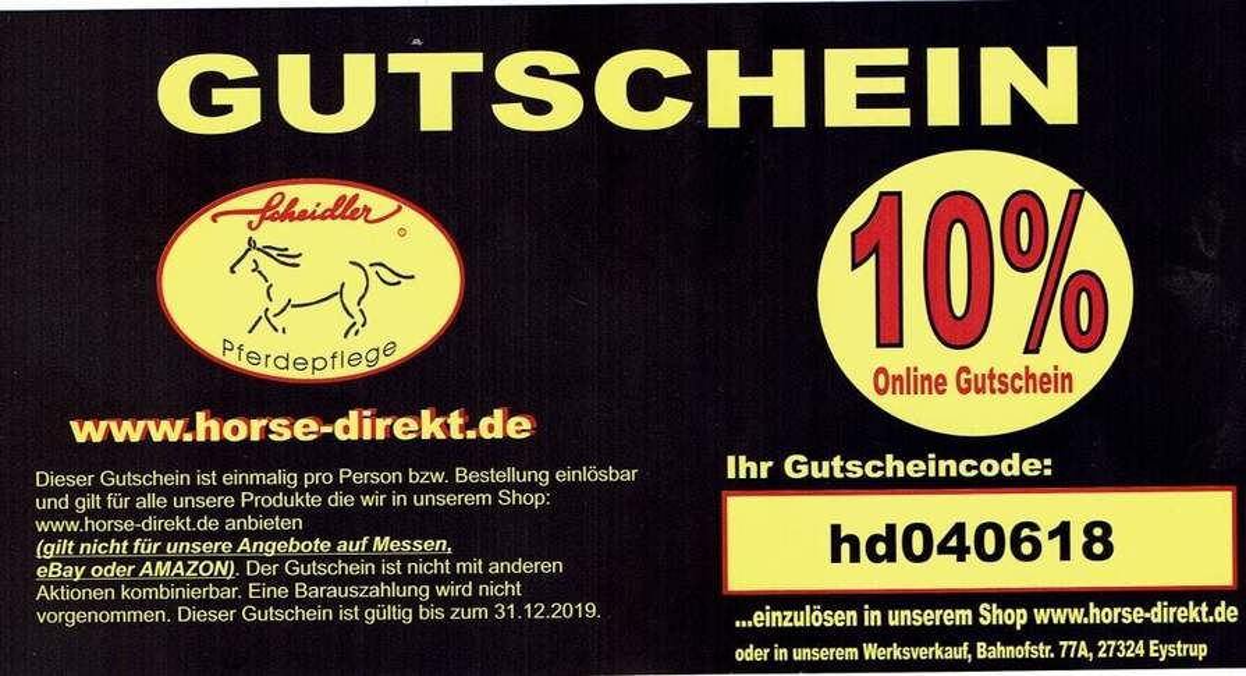 097f0070d69366 horse-direkt.de  10% Gutschein - z.b. Glycerin