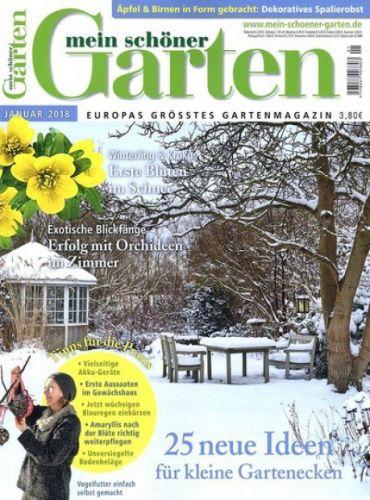 Garten Zeitschrift Abo mein schöner garten magazin abo 12 ausgaben für 48 mit 30