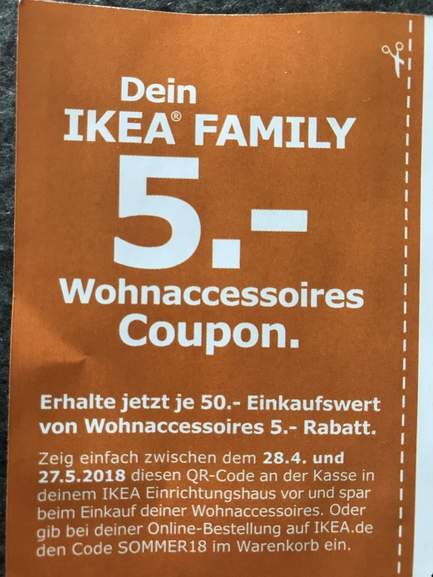 ikea family 5 rabatt je 50 auf wohnaccessoires 28 4 27 5. Black Bedroom Furniture Sets. Home Design Ideas