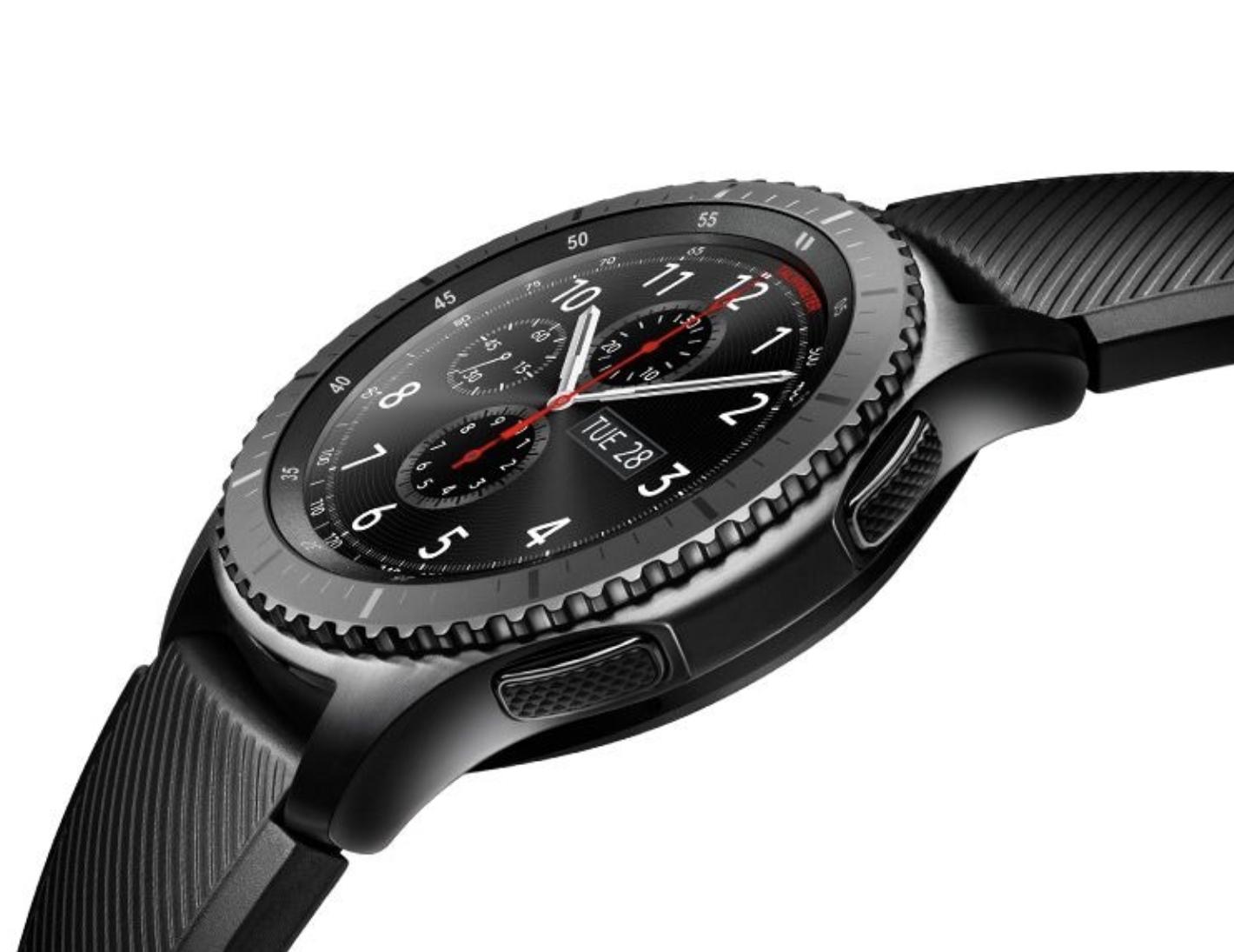 samsung gear s3 frontier smartwatch 46mm f r 179 plus 13 35 ber payback m glich ab. Black Bedroom Furniture Sets. Home Design Ideas