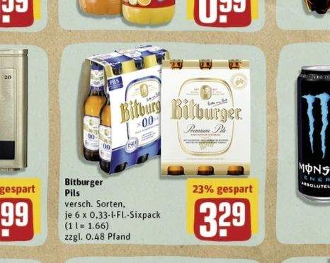 Gratis Sixpack Bitburger Bier Mit 031 Gewinn Dank Payback