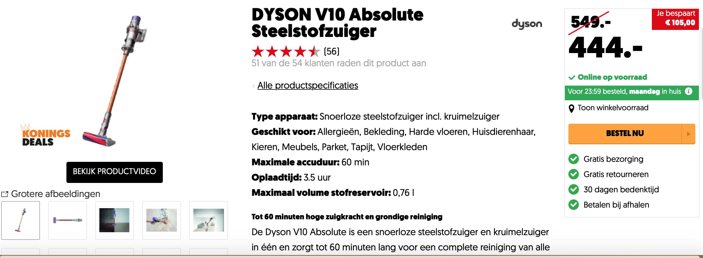dyson cyclone v10 absolute akku staubsauger mediamarkt. Black Bedroom Furniture Sets. Home Design Ideas