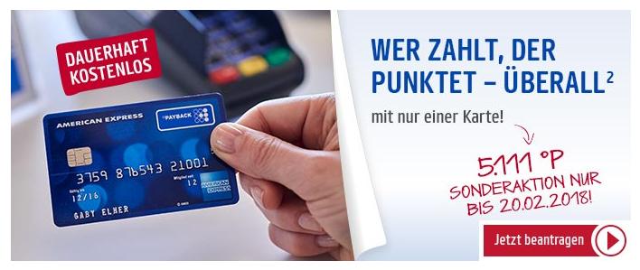 Payback Karte Beantragen.Payback American Express Kreditkarte Mit 5 111 Punkten Entspricht