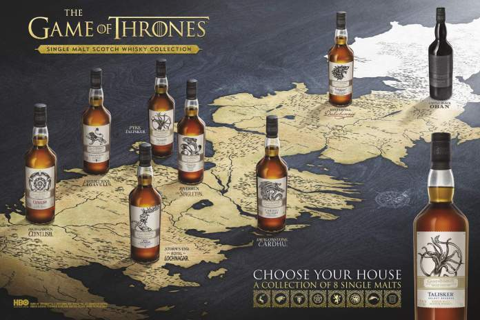 Whisky Game Of Thrones Single Malts Vorbestellbar Z B Lagavulin